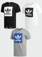 Adidas Originals Mens Box Blackbird Skateboard Essentials Crew neck T-Shirt S-XL