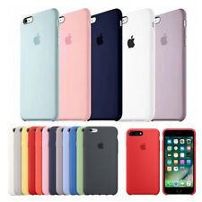 ORIGINAL Genuine Back Case Cover Silicone For Apple iPhone XR XS Max 8 7 6 Plus
