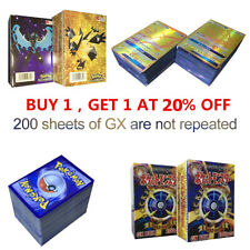 100/120/200PCS GX EX MEGA Cards Holo Trading Flash Card Game Gift LOT