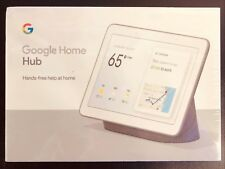 "Google Home Hub with Google Assistant Smart 7"" Display Chalk Grey or Chalk White"