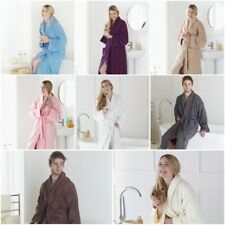 LUXURY UNISEX TOWELLING BATH ROBE 100% EGYPTIAN COTTON DRESSING GOWN TERRY TOWEL