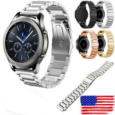 US New Stainless Steel Watch Band Strap Bracelet For Samsung Gear S3 Frontier ol