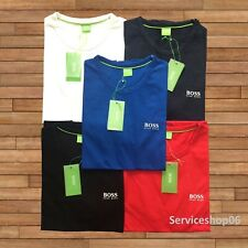 Hugo Boss Polo Men's Crew Neck Short Sleeve T-Shirt New With Tags