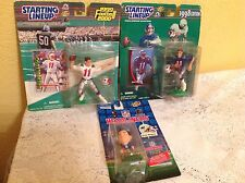 NEW ENGLAND PATRIOTS DREW BLEDSOE FIGURES NEW NFL FOOTBALL PLAYERS CARDS COLLECT