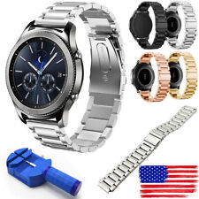 US Replacement Stainless Steel Watch Band Wrist Strap For Samsung Gear S3 onl