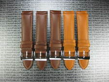 19mm Dark Brown CALF LEATHER STRAP Watch Band LONGINES Classic 19 mm