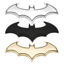 3D Car Sticker Metal Bat Auto Logo Car Batman Badge Emblem Tail Decal Motorcycle