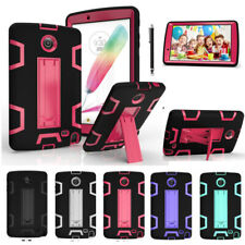 Hybrid Shockproof Rubber Armor Rugged Hard Case Cover For Samsung Galaxy Tablets