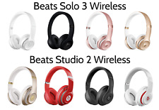 Beats by Dre Solo 3 Studio 2 Wireless On Ear Bluetooth Headband Headphones