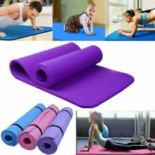 15mm  Non-slip Yoga Mat Health Lose Weight Fitness Durable Thick Exercise Pad