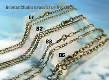 16'' to 30'' long/ Antique bronze chain/ Extra long chain/ Chain for pendant