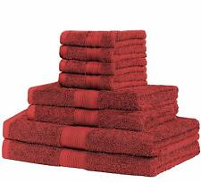 8 Piece SET Terry Towel BY CottonNet 100% Cotton EXTRA Absorbent & soft LUXURY