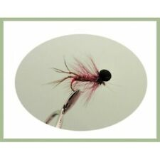 Hoppers 12 x Black Hackled Hoppers Mixed 10//12//14//16 Fishing Flies Trout Flies
