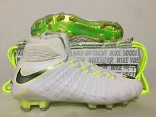 buy popular ef879 08350 Nike Hypervenom 3 Elite DF FG Soccer Cleats White Volt Chrome SZ  AJ3803-107