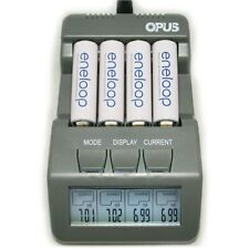 Opus BT-C700 NiCd NiMh LCD Digital Intelligent 4-Slots Battery Charger