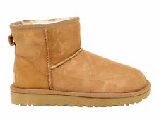 Ankle boot UGG AUSTRALIA 6222 B in beige suede leather - Women's Shoes