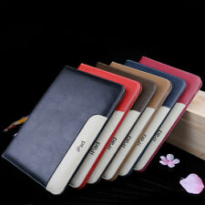Luxury Leather Smart Protective Case For New iPad 6TH Pro 10.5 12.9 Air 2 Mini 4