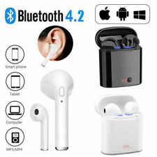 i7s Wireless Bluetooth Sport Gym Earphone Headset For iPhoneXR 8 7 6s Samsung UK