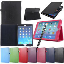 """Case Cover For Apple iPad 234/Mini/Air/9.7"""" Flip Magnetic PU Leather Stand Case"""