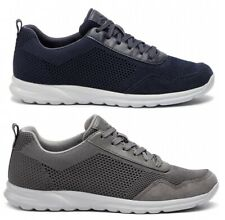 e0a50014c3 Geox Sp Erast U923EB Men's Shoes Sneakers Suede Leather Fabric Lace up  Casual