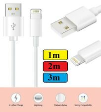 1m 2m 3m Charging lead charger USB Data cable for iPhone Xs max 6s PLUS se iPad