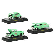 New Coca-Cola Green Set of 3 Cars Limited Edition to 4,800 pieces Worldwide Hobb