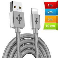 Heavy Duty Extra Long Data USB Charger Cable 3m 2m Lead For iPhone 8 7 6s 5s X
