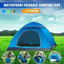 2-3 Person Family Dome Waterproof Outdoor Foldable Pop Up Camping Hiking Tent