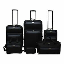 6-Piece Luggage Set - Travel Kit, Travel Tote, Duffle Bag, Carry On, 2 Suitcases