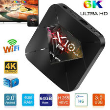 X10 PLUS Smart TV BOX Android 9.0 Hot Smart Quad Core 6k WiFi Media Player C7M0