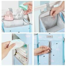 2019 Portable Baby Crib Organizer Bed Hanging Bag for Essentials Diaper Storage