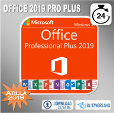Microsoft Office 2010/2013/2016/2019 Professional Plus 32&64 Bits, per E-Mail
