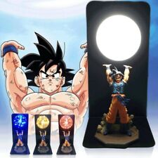 Actions Figure Dragon Ball Room Decorative Lamp Son Goku Super Saiyan Figures Le