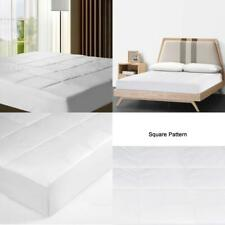 Mattress Pad Cover Cooling Quilted Bedding Cotton Top Mattress Topper Protector