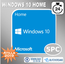 MS Windows 10 Home - Win 10 Home 1/2/3/4/5 PC - OEM - Direkt per E-Mail
