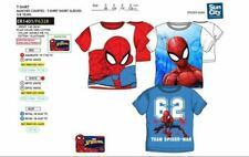 Official Licensed Disney Character Short Sleeve T-shirt Spiderman 3-8y NWT