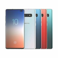 New in Box Samsung Galaxy S10 Plus G975U 128GB Factory Unlocked Black Blue White