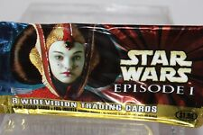 Star Wars Episode 1 Series 1 Red Rare Wide Trading Cards Foil Stickers...U PICK