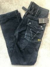 """G-STAR RAW VINTAGE AGED MOTOR 5620 TAPERED EMBRO FIT JEANS - 30"""" x 34"""" NEW TAGS"""