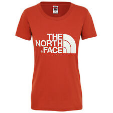 The North Face Easy Womens T-shirt - Picante Red All Sizes