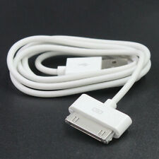 1M USB Charger Sync Data Cable Nano Touch for iPad2 3 iPhone 4 4S 3G iPod White