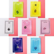 KPOP BLACKPINK TWICE NCT EXO GOT7 PRODUCEX101 Necklace Letter Pendant Jewelry