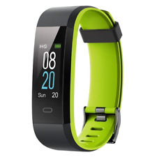 YAMAY Fitness Trackers,Colour Watch Waterproof IP68 Tracker Heart Rate Monitor