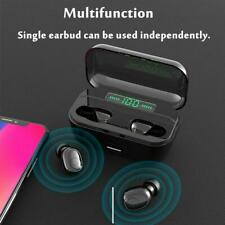 Mini Bluetooth 5.0 Headset Stereo Wireless Earbuds Headphones Earphones