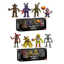 4pcs/lot 5cm Five Nights at Freddy's 4 Figure Pack Five Nights at Freddys Action