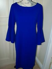 NEW QVC RONNI NICOLE Bell Sleeve Dress Choice of Size & Colour