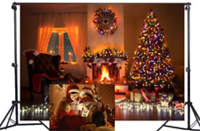 WaW 7x5ft Christmas Backdrop Photography Backdrops Indoor Room Photo Background
