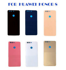 Back Battery Cover For Huawei Honor 8 Rear Glass Panel Case Replace Adhesive RHN