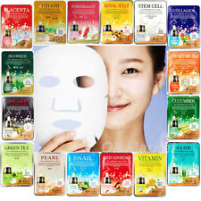 7 pcs Facial Mask Sheets Pack Face Essential Skin Care Moisture Anti-Aging MALIE
