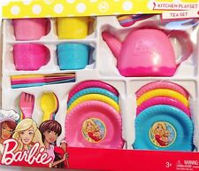 BARBIE DISHES kitchen playset 30 pieces # New